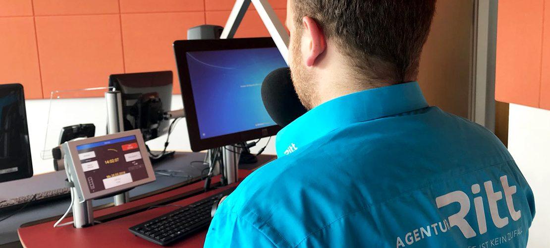 Agenturgeschichten: Radiointerview im ORF Landesstudio