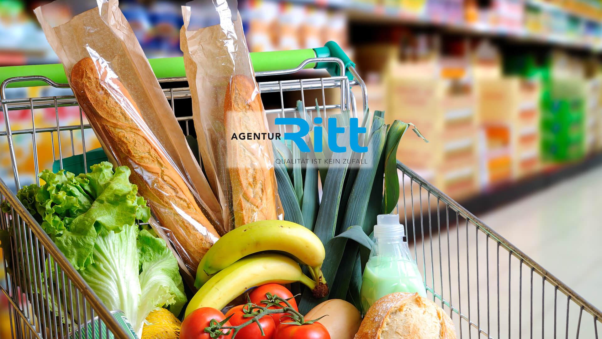 Lebensmittel Einzelhandel Slider