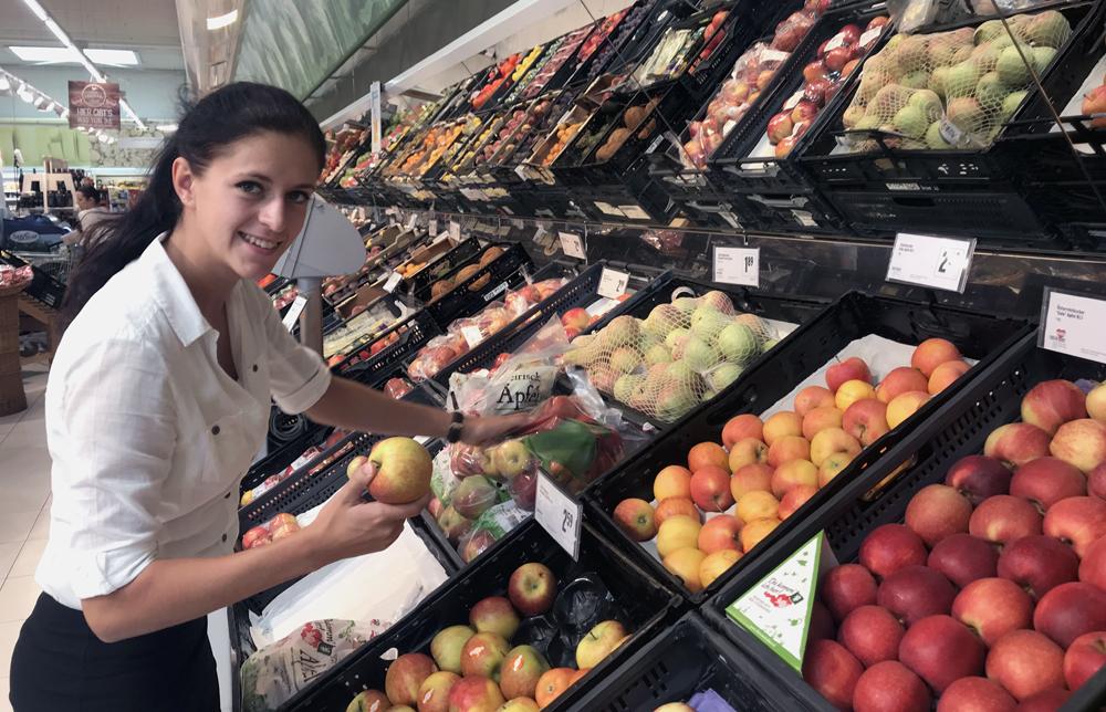 Qualitätskontrolle Lebensmittel Einzelhandel