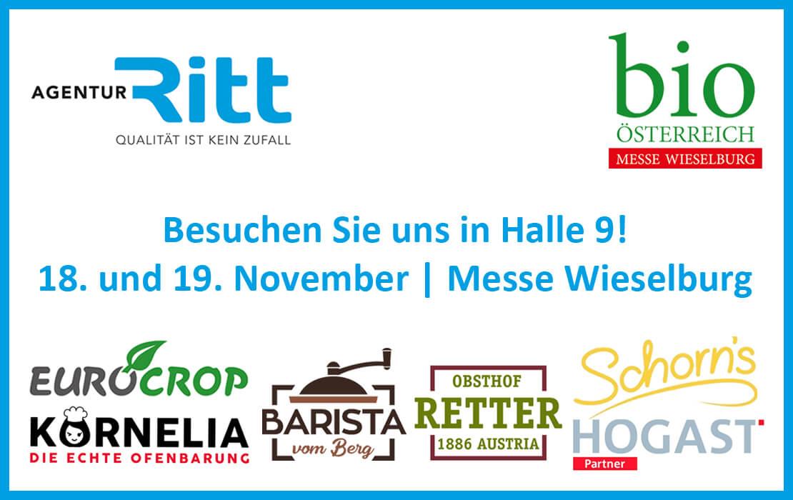 Bio Österreich 2018: Spezialmesse für Bioprodukte